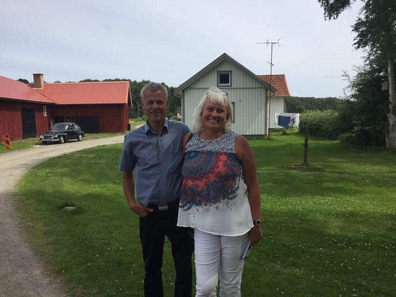 Gamla huset nya ägare Alfons gård